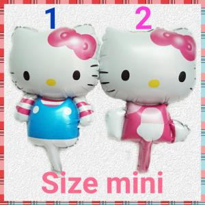 Bóng Hello Kitty đứng mini