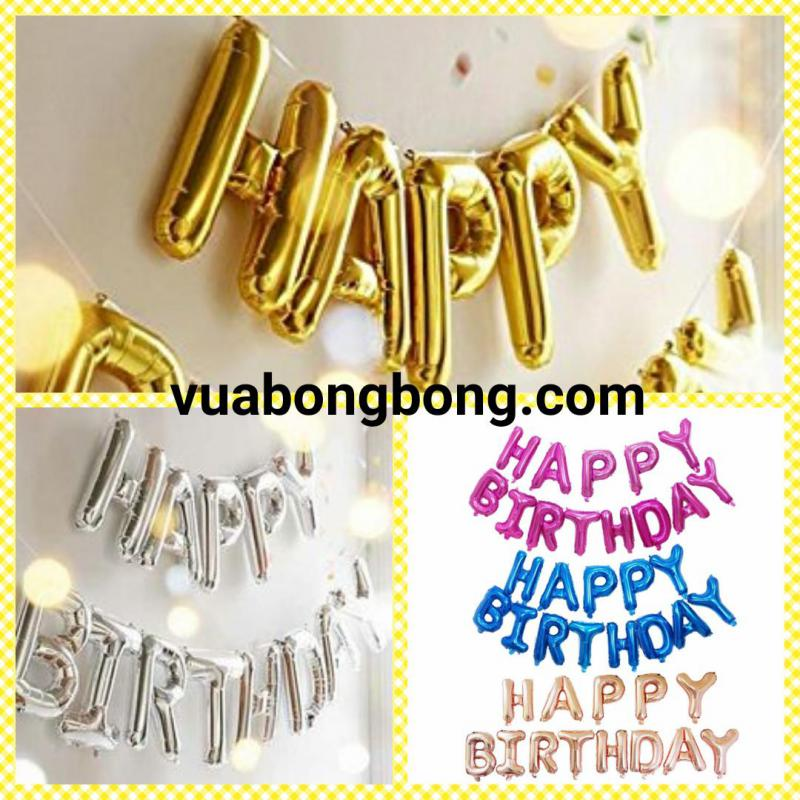 Bóng chữ HAPPY BIRTHDAY V.2