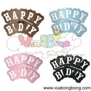 Banner HAPPY BIRTHDAY cổ điển
