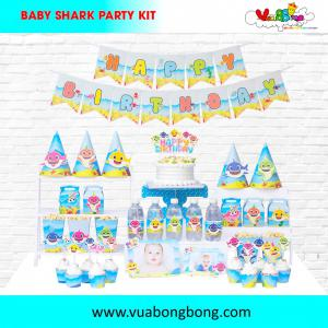 Chủ đề baby shark SET PARTY KIT